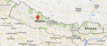 Nepal map text 2